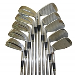 Bob Kletcke Masters Spalding Irons Complete Set 2-Sand Wedge - Ten Clubs in Total