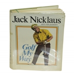Jack Nicklaus Signed Golf My Way Book JSA ALOA