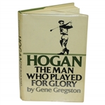 Ben Hogan Signed Hogan- The Man Who Played for Glory Book JSA ALOA