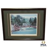 """13th Hole In Full Bloom"" Augusta National Artist Proof Signed by Artist Bill Pendergrass"
