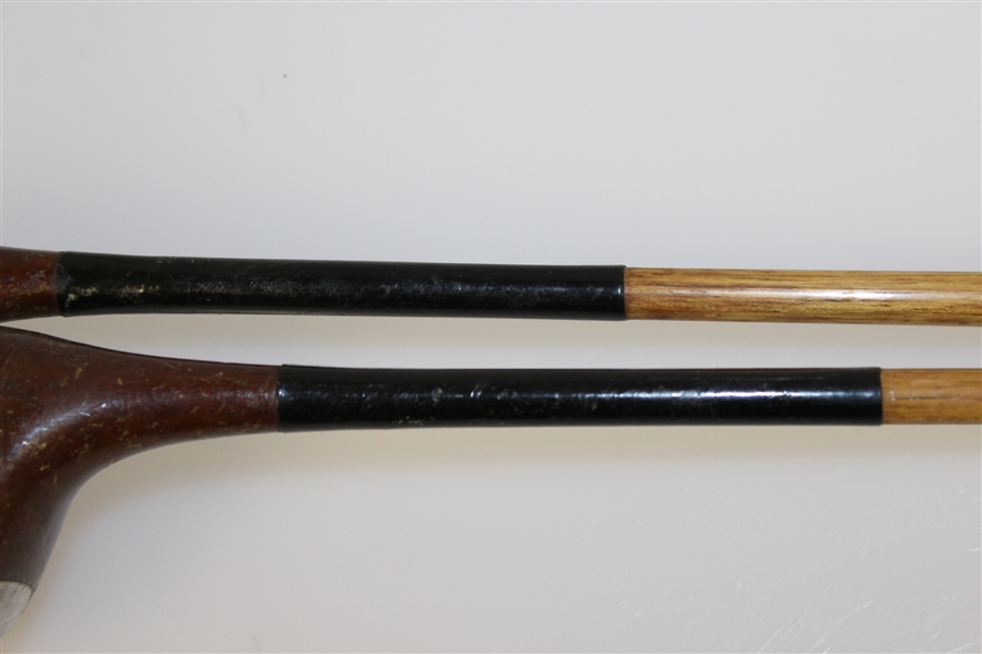 A.G. Spalding Bros Crow Face Reg. #25653 1-Wood & 2-Wood
