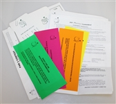 Assorted Augusta National & Masters Paperwork - Recent