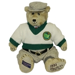 1993 Masters Tournament Ltd Ed #53/100 Cooperstown Bear