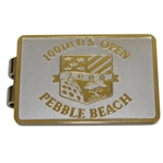 2000 US Open at Pebble Beach Money Clip/Badge - 1st Leg of Tiger Slam