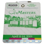 2019 Masters Tournament Series Badge #R11019 - Tiger Woods 5th Green Jacket