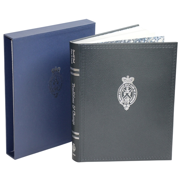 Royal & Ancient Golf Ltd Ed 'Traditions and Change' Book with Slipcase 88/275 - Signed
