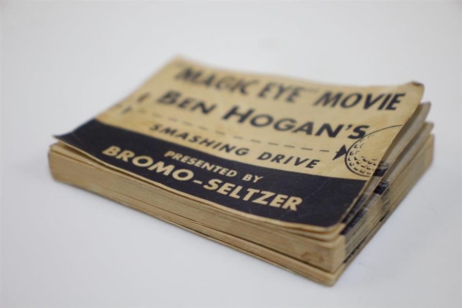 Ben Hogan's Magic Eye Movie - Smashing Drive Flip Book Presented by Bromo-Seltzer