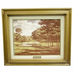 Augusta National Golf Club Hole No. 16 Print by William Casey - Framed