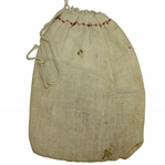 Vintage Unmarked & Undated Canvas Tee Bag with Misc Tees - Crist Collection