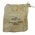 "Vintage ""McCalls Golf Specialists"" Canvas Tee Bag with Tees - Crist Collection"