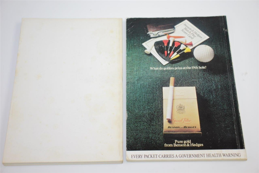 1962, 1965, 1966, 1973 & 1976 Tournament Player Catalogues