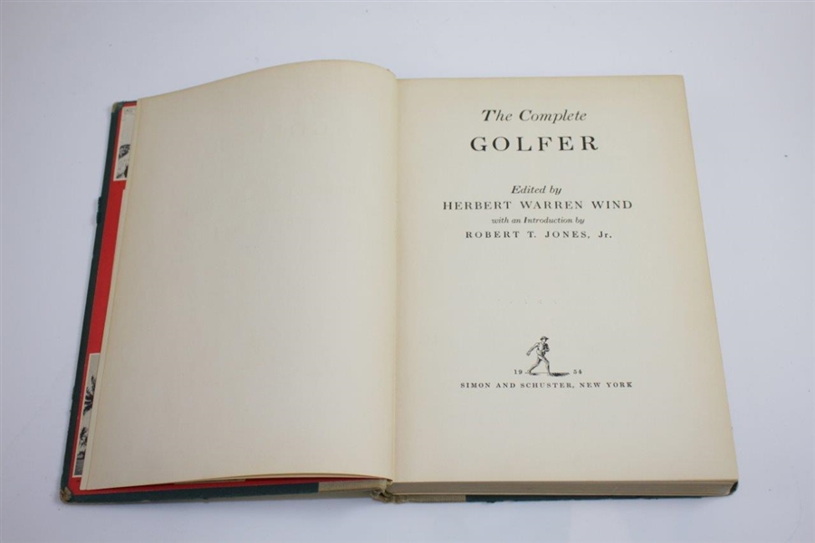 1954 'The Complete Golfer' Book by Herbert Warren Wind