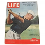 Ben Hogan Signed August 8, 1955 Large LIFE Magazine JSA LOA