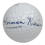Herman Keiser Signed Titleist Golf Ball JSA ALOA