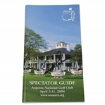 Arnold Palmer Signed 2004 Masters Tournament Spectator Guide JSA #DD21564
