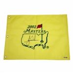 Tiger Woods Signed 2002 Masters Embroidered Flag UDA SHO 35230