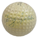 Tony Lema Signed Personal Match Used Titleist 7 Logo Golf Ball FULL JSA #BB58256