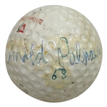 Arnold Palmer Signed Personal Match Used & Dated 58 Wilson Staff Golf Ball FULL JSA #BB58257
