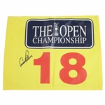Arnold Palmer Signed Undated OPEN 18th Hole Flag FULL JSA #X88294