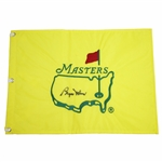 Byron Nelson Signed Undated Masters Embroidered Flag FULL JSA #X88297