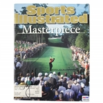 Tiger Woods Signed April 16,2001 Sports Illustrated Masterspiece Magazine PSA/DNA #2A25126