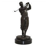 Bobby Jones Ltd Ed Bronze Statue by Ron Tunison - Stands Over a Foot Tall - 13.5lbs!