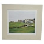 "18th Fairway - The Old Course St. Andrews ""The Home of Golf"" Print by R. Gordon B. White"