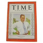 1930 Time Magazine with Bobby Jones on Cover - September 22nd