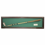 1976 Memorial Tournament at Muirfield Presented Calamity Jane Putter - Reproduction - Framed