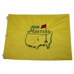 Danny Willett Signed 2016 Masters Embroidered Flag JSA ALOA