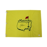 Jack Nicklaus Masters Tournament Autographed Signed Undated Pin Flag - JSA Full Letter