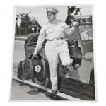 Bobby Jones 1942 Arrives for Air Force Duty Original ACME Wire Photo