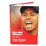 "Tiger Woods Signed The 1997 Masters: My Story"" Book JSA ALOA"
