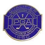 1950 PGA Championship at Scioto CC Contestant Badge - Chandler Harper - Rod Munday Collection