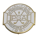 1951 PGA Championship at Oakmont Contestant Badge - Rod Munday Collection