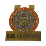 Mark Calcavecchias 2019 US Senior Open at Warren Golf Course Contestant Badge