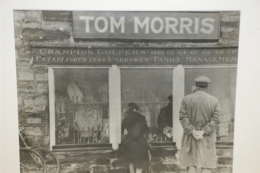 Tom Morris Champion Golfers Shop Unbroken Family Management Photo