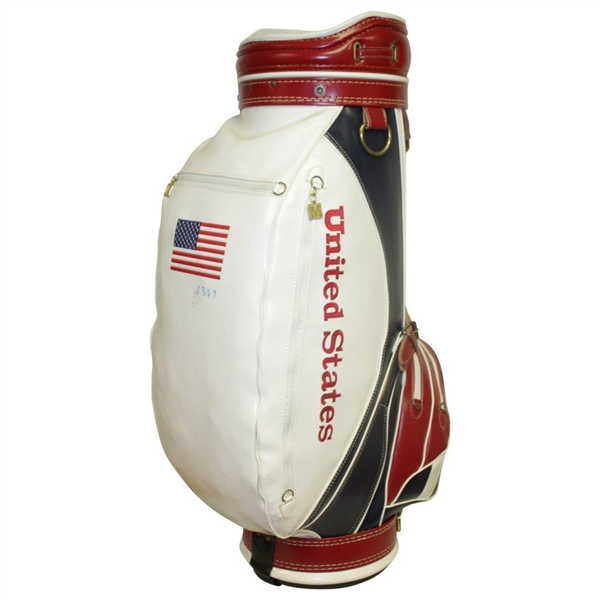 1990 US PGA Cup Commemorative Full Size Golf Bag - Unused Condition