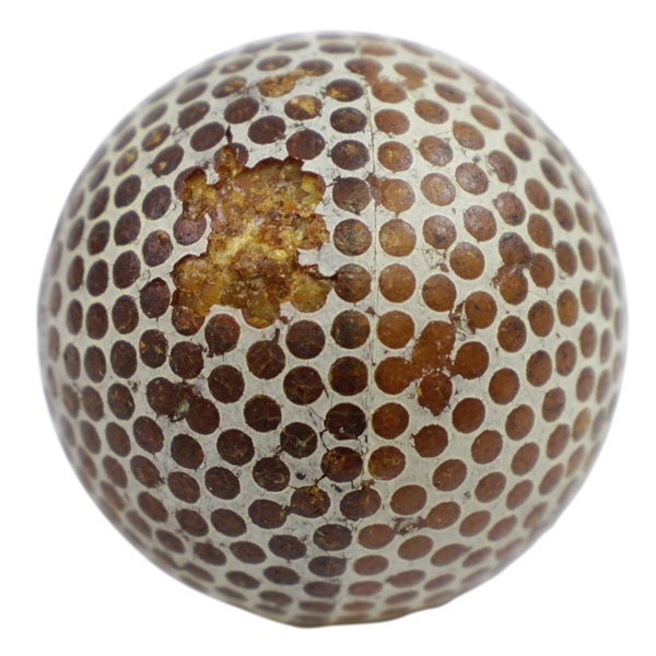 Circa 1910 Spalding Dot Bramble Golf Ball
