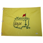 Phil Mickelson Signed Undated Masters Embroidered Flag FULL JSA #Y53094