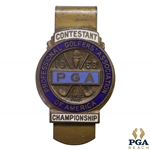 1958 PGA Championship at Llanerch C.C. Contestant Badge - Dow Finsterwald Winner