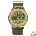 1960 PGA Championship at Firestone CC Contestant Badge - Jay Hebert Winner