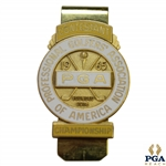 1965 PGA Championship at Laurel Valley CC Contestant Badge - Dave Marr Winner