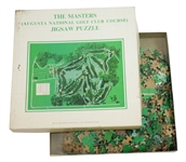 1974 The Masters Augusta National Golf Club Course Jigsaw Puzzle in Original Box
