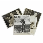 Three 1930s Wire Photos of Byron Nelson - Includes Western Open & US Opens
