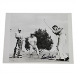 Ken Venturi Signed 1953 UPI Photo at US Amateur Championship JSA ALOA