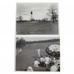 1933 US Open at North Shore GC Wire Photos - Bob MacDonald & Danger Spots - June 8th & May 23rd