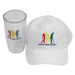 Drive, Chip, & Putt Unused White Hat with Tervis Tumbler