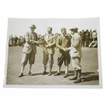 Bobby Jones 1921 Walker Cup Foursome Match at Hoylake Type 1 Victor Forbin Photo