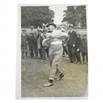 """Ted"" Ray Golfing Star at Oxhey Daily Mirror Photograph - Victor Forbin Collection"